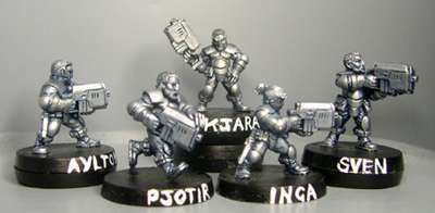 HFG100 Squad pack (heavy infantry)